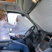 System zaciemniający na szyby do kabiny kierowcy Fiat Ducato Dometic
