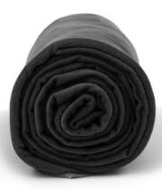 Antybakteryjny ręcznik szybkoschnący XL czarny Dr Bacty