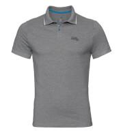 Szybkoschnąca uniwersalna koszulka Odlo Polo s/s Nikko c/o szara męska