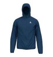 Wiatroszczelna outdoorowa kurtka Odlo Jacket Wisp C/O niebieska męska