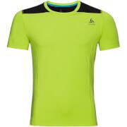 Męska koszulka sportowa Odlo Top Crew neck s/s Ceramicool zielona