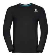 Męska techniczna koszulka sportowa Odlo BL Top Crew Neck L/S Ceramicool Pro czarna