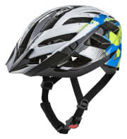 Uniwersalny kask rowerowy Panoma 2.0 White Cyan Green 56-59 wielokolorowy Alpina