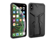 Uchwyt na telefon iPhone XS MAX Ridecase Topeak czarny szary