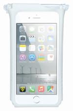 Pokrowiec na telefon iPhone Smartphone Drybag Topeak biały