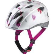 Kask dziecięcy rowerowy Ximo Alpina White Hearts