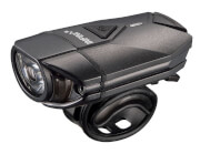 Wodoodporna lampa rowerowa przednia Super Lava Black USB Infini