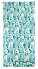 Antybakteryjny ręcznik szybkoschnący XL Kaktus Dr Bacty