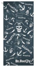 Antybakteryjny ręcznik szybkoschnący XL Piraci Dr Bacty
