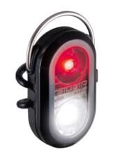 Kompaktowa lampka Micro Duo Black czarna Sigma