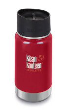 Termos Wide Vacuum Insulated 355ml Mineral Red Klean Kanteen