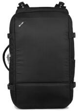 Antykradzieżowa torba podróżna z szelkami Pacsafe Vibe 40 Jet Black