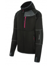 Dopasowana damska bluza turystyczna Alpine Lady czarna Viking