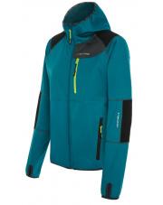 Dopasowana damska bluza turystyczna Alpine Lady niebieska Viking