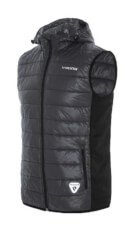 Ocieplana kamizelka męska Primaloft Bart vest czarna Viking