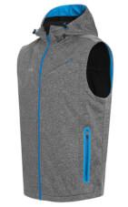 Oddychająca kamizelka męska sportowa Robin Vest szaro niebieska Viking