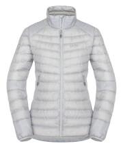 Puchowa kurtka bez kaptura Zajo Livigno W NH Jkt Glacier Gray