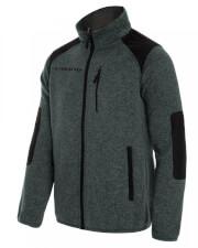 Ciepły sweter trekkingowy Vinson ciemno szary Viking
