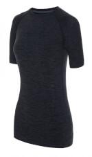 Termoaktywna bezszwowa koszulka damska Emma Top czarna Viking