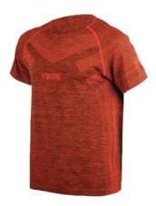 Termoaktywna bezszwowa koszulka męska Flynn Top pomarańczowa Viking