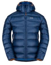 Puchowa kurtka zimowa męska Zajo Moritz Jkt Estate Blue