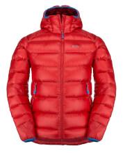 Puchowa kurtka zimowa męska Zajo Moritz Jkt Racing Red