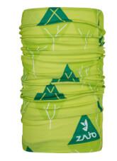 Chusta wielofunkcyjna Zajo unitube Acid Lime Trees
