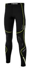 Szybkoschnące spodnie sportowe męskie Nixon Long czarno zielone Viking
