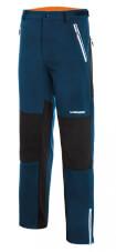 Oddychające spodnie softshell Summit Warm Pro niebiesko żółte Viking