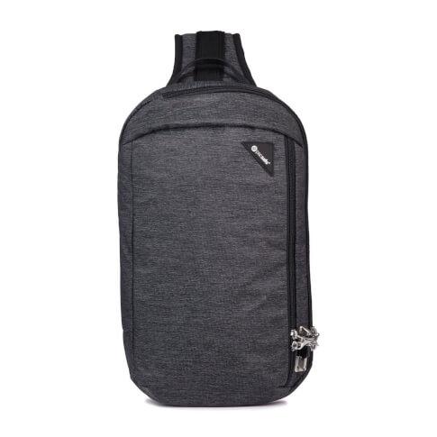 Plecak na jedno ramię antykradzieżowy Vibe 325 Pacsafe 10L szary