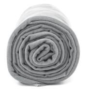 Antybakteryjny ręcznik szybkoschnący XL szary Dr Bacty