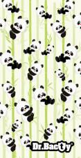 Antybakteryjny ręcznik szybkoschnący XL Panda Dr Bacty