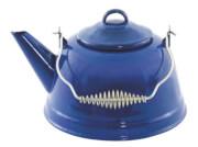 Praktyczny czajnik emaliowany Enamel Kettle Blue 2,5 l Easy Camp
