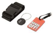 Podróżniczy zestaw zabezpieczeń bagażu Security Pack Easy Camp