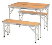 Komplet kempingowy stół z ławkami Marle Picnic Table Easy Camp