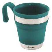 Kempingowy składany kubek z rączką Collaps Mug niebieski Outwell