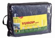 Kempingowa wykładzina podłogowa Yurop 500 x 250 cm niebieska Brunner