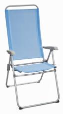 Podróżne rozkładane krzesło turystyczne Joy Brunner niebieskie
