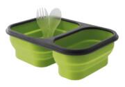 Kempingowy składany pojemnik obiadowy Provision Lunch Box M zielony EuroTrail