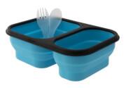 Kempingowy składany pojemnik obiadowy Provision Lunch Box M niebieski EuroTrail