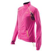 Bluza sportowa ze stójką Dynamica Viking różowa