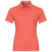 Damska koszulka polo Kumano Odlo pomarańczowa