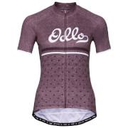Koszulka techniczna Stand Up Element Print Odlo fioletowa