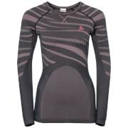 Koszulka techniczna Suw Top Performance Blackcomb Odlo szaro różowa