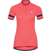 Koszulka rowerowa Breeze Odlo różowa