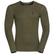 Koszulka techniczna Active X - Warm Odlo oliwkowa
