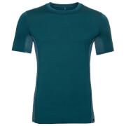 Koszulka z wełny merino Top Natural Ceramiwool Light Odlo morska