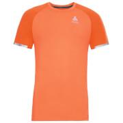 Koszulka chłodząca Top Zeroweight Ceramico Odlo pomarańczowa