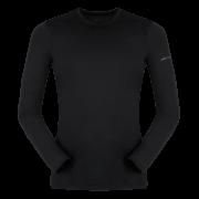 Męska bluzka z długim rękawem Litio T - shirt LS Black Zajo czarna