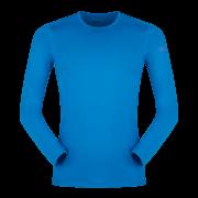 Męska bluzka z długim rękawem Litio T - shirt LS Ibiza Blue Zajo niebieska